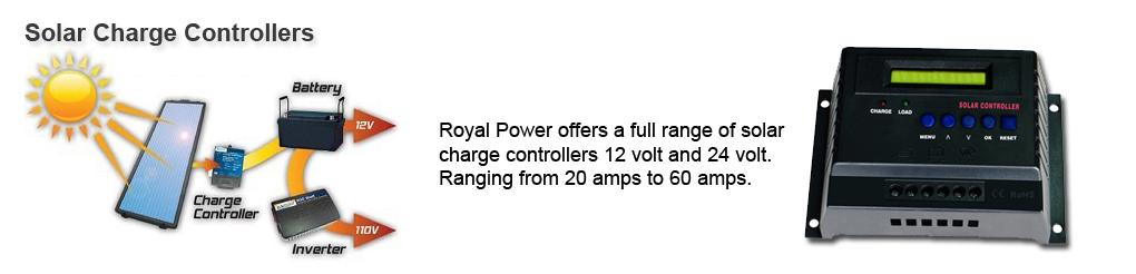 Royal Power Solar Charge Controllers