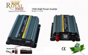 1500 Watt Power Inverter 24 Volt DC To 110 Volt AC