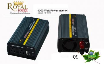 1000 Watt Power Inverter 12 Volt DC To 110 Volt AC