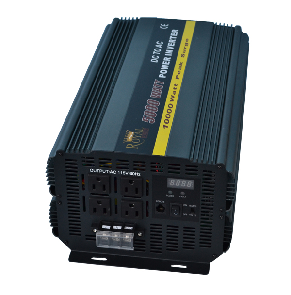 Inverters For Sale >> 5000 Watt Power Inverters 12 Volt Dc To 110 Volt Ac