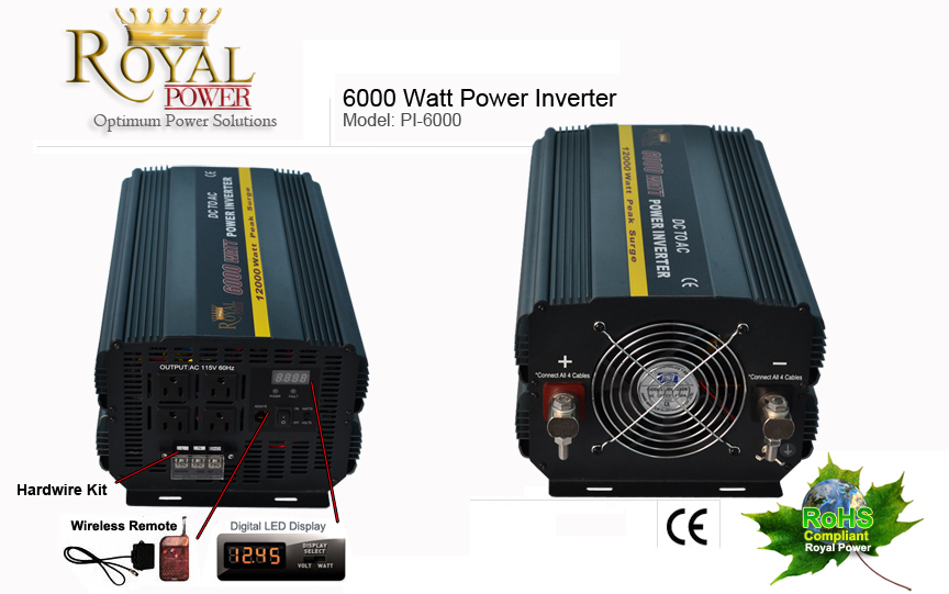 6000 watt power inverters 12 volt dc to 110 volt ac 6000 watt power inverter 12 volt dc to 110 volt ac publicscrutiny Images